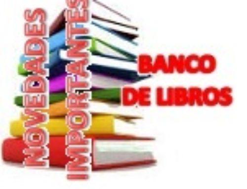 ENTREGA DE MATERIAL CURRICULAR. BANCO DE LIBROS CURSO 2020-2021