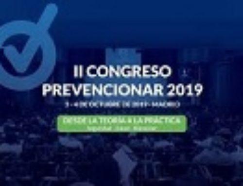 El IES Virgen del Pilar en el Congreso Prevencionar 2019