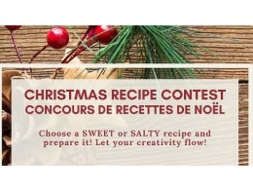 CHRISTMAS RECIPE CONTEST