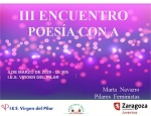 III Encuentro de Poesía con A