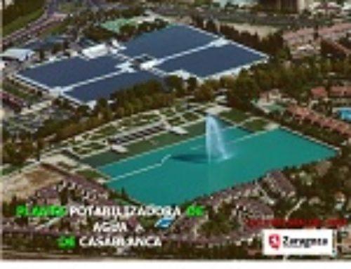 Visita a la potabilizadora de Zaragoza