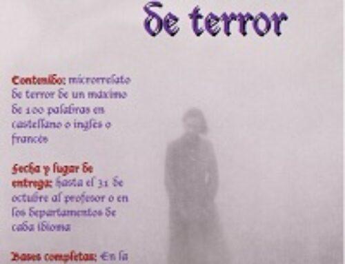 Concurso de microrrelatos de terror