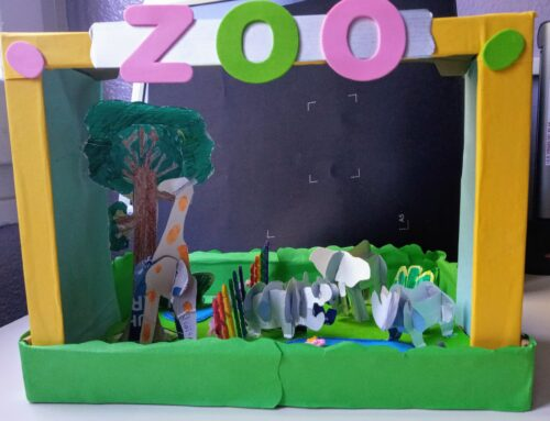 Exposición de dioramas de 1.º ESO